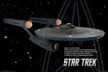 Star Trek Starship Enterprise Poster