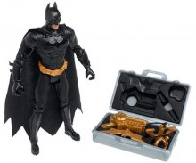 Batman Begins Silver Battle Gear Figure
