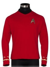 "Star Trek ""Red Shirt"" Quality Replica Uniform"