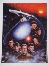 Star Trek Full Cast Poster
