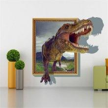 Jurassic World Dinosaur 3D Wall Sticker