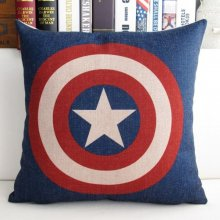 Captain America Cotton Pillowcase