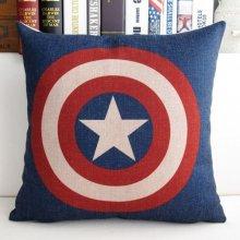 Captain America Cotton Pillowcase