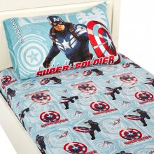 Captain America Winter Soldier Sheet Set