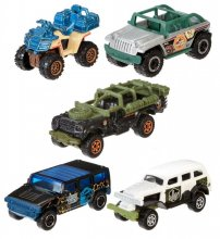 Jurassic World Vehicle 5-Pack