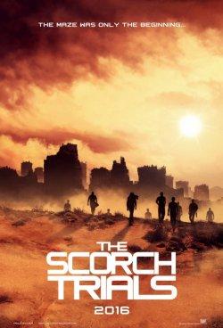 The Maze Runner Scorch Trials poster