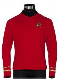 "Star Trek ""Red Shirt"" Quality Replica Uniform"