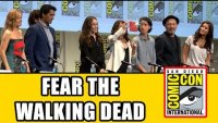 Comic Con Panel - Cliff Curtis, Alycia Debnam Carey, Frank Dillane